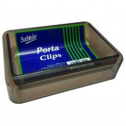 Portaclips 10x7x2.5 humo