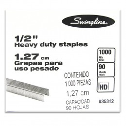 "Grapa 1/2"" 1000pz heavy duty"