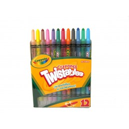 Crayon twistables con 12...