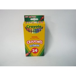 Crayones delgados con 24...