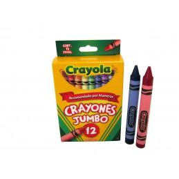 Crayon jumbo con 12 colores