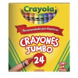Crayon jumbo con 24 colores