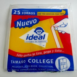Forro college 25.3cms cal...