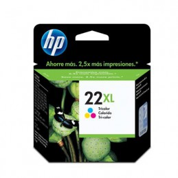 Cartucho hp 22xl tricolor p...