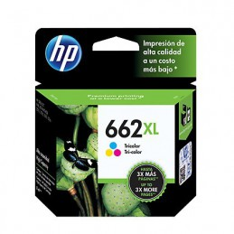 Cartucho hp 662xl tricolor...