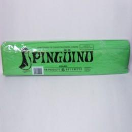 Papel crepe 13 verde limon...