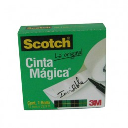 Cinta magica  12mm x 33mts