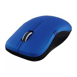 Mouse optico azul mate...
