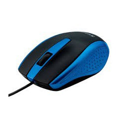 Mouse optico bravo azul...