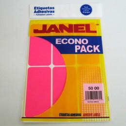 Etiqueta rosa econopack...