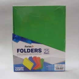 Folder carta intenso verde...