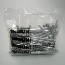 """Postes de aluminio 2.5""""..."""