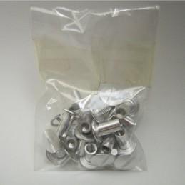 Postes de aluminio 3/8 9mm...