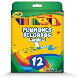 PLUMINES DELGADOS LAVABLES...