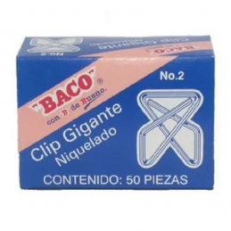 CLIP GIGANTE NIQUELADO  No....