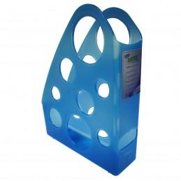 Revistero de plastico azul